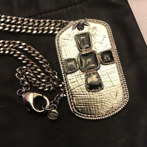 Chanel Dog Tag Necklace